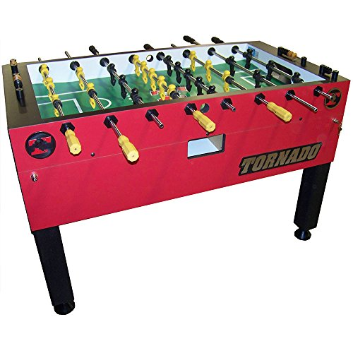 Tornado Red T-3000 3 Goalie Coin Op Foosball Table for sale  Delivered anywhere in USA