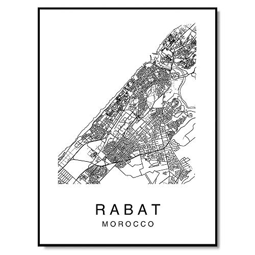 Rabat Wall Art Poster Print Capital City of Morocco for sale  Delivered anywhere in USA