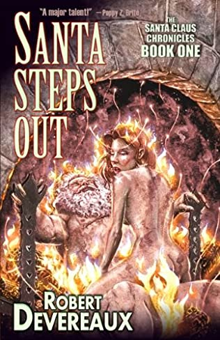 book cover of Santa Steps Out