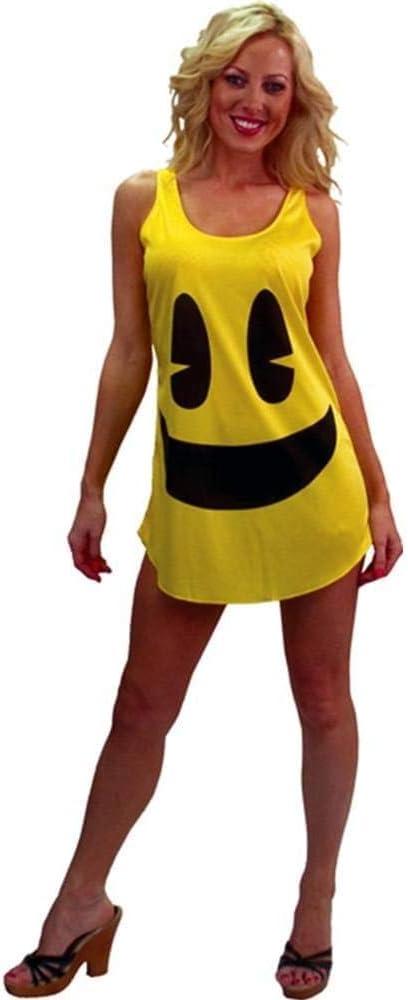 Desconocido Disfraz Pac Man amarillo para mujer: Amazon.es ...