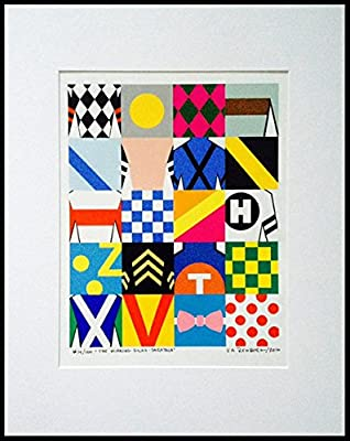 The Winning Silks CollectionTM Limited Edition Signed Print #57/100