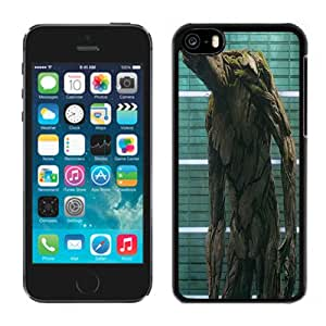 NEW Fashion Custom Designed Cover Case For iPhone 5C Groot Black Phone Case