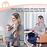 Momcozy Baby Wrap Carrier Slings, Adjustable Baby