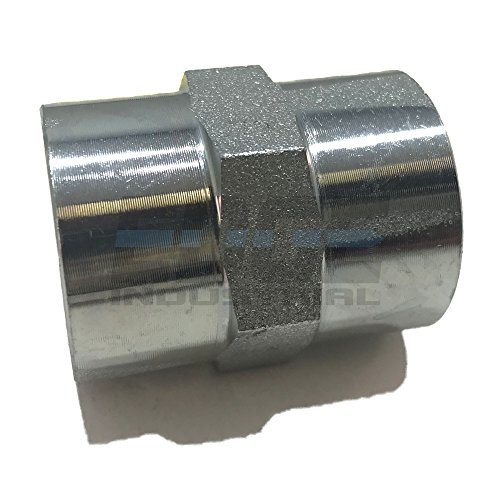 EDGE INDUSTRIAL Steel Coupling 1/2