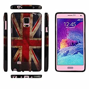 Bestpriceam (TM) United Kingdom UK Flag Soft TPU Case Cover For Samsung Galaxy Note 4
