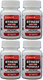 Stress Tab with Iron High Potency Stress Formula with B-Vitamins, C+E, plus Antioxidants and Iron For Immune Support 60 Tablets per Bottle Pack of 4 Total 240 Tablets