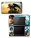 How to Train Your Dragon 2 3 Hiccup Toothless Astrid Video Game Vinyl Decal Skin Sticker Cover for Original Nintendo 3DS System