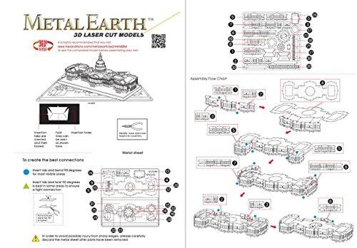 Metal Earth 3D Metal Model - US Capitol Building
