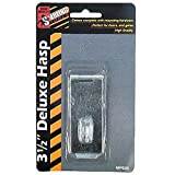 3 1/2 Inch deluxe hasp, Latches & Hasps, Hardware (Sold in a package of 72 items - $0.81 per item)