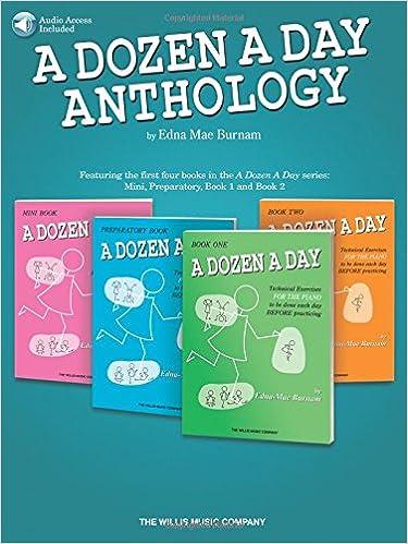 a dozen a day piano  pdf