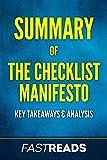 Summary of The Checklist Manifesto: Includes Key Takeaways & Analysis