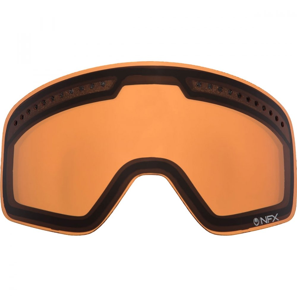 Dragon Alliance Unisex-Adult's Nfx2 Dual Replacement Lens (Amber, One Size)