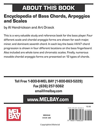 Mel Bay\'s Encyclopedia of Bass Chords, Arpeggios & Scales: Al ...