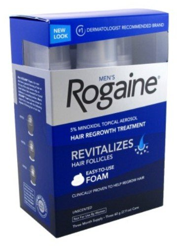 Rogaine Mens Regrowth Foam 5% Unscented 3 Month Supply by Rogaine (Image #1)