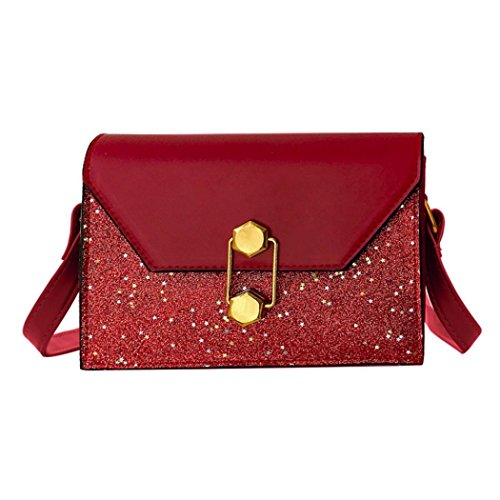 Clearance Sales Womens Girls Gift Sequins Crossbody Bags AfterSo (19cmL x 7cmW x 15cmH/7.48