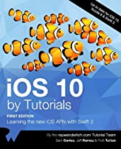 Book iOS 10 by Tutorials: Learning the new iOS APIs with Swift 3 [W.O.R.D]