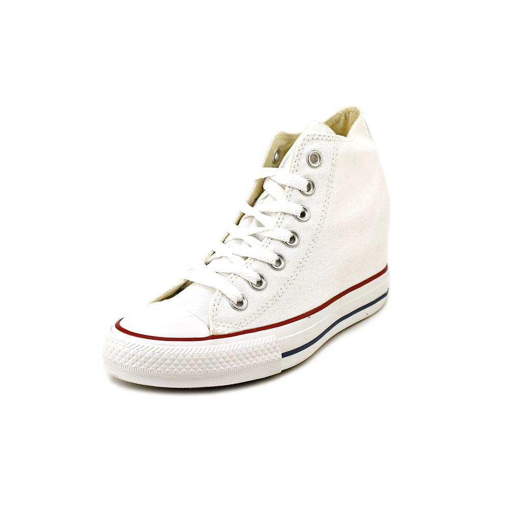 4d5ff14ae50e67 Galleon - Converse Chuck Taylor Lux Mid 547200F White Hidden Platform Wedge  Womens Shoes (size 9)