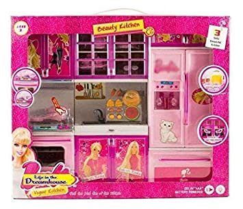 Buy Sr Toys Barbie Kitchen Set For Kids Girls Toys With Lights And