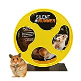 Exotic Nutrition Silent Runner 9'' - Pet Exercise Wheel + Cage Attachment