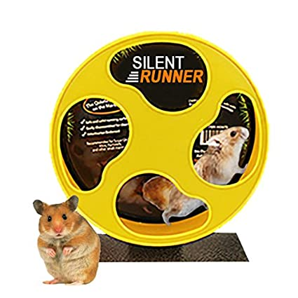 "Silent Runner 9"" - Pet Exercise Wheel + Cage Attachment"