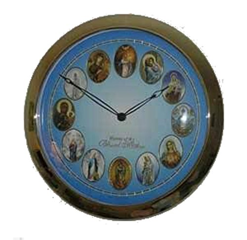 JMJ Products, LLC Blessed Virgin Mary Musical Clock