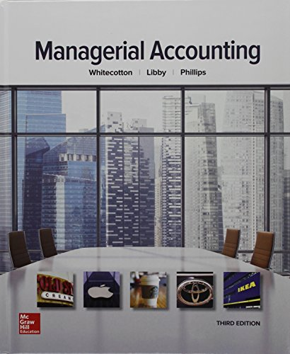 Managerial Accounting W/Connect Access