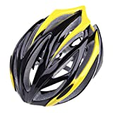 Men's 21 Vents Mountain Road Cycling Helmet Out Sports Bicycle Helmets (Yellow)