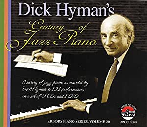 Century Of Jazz Piano 5cd+dvd