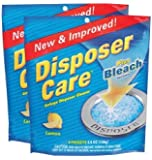 Glisten DP06N-PB Disposer Care Foaming Garbage Disposer Cleaner-4.9 Ounces 4 ct-2 pk
