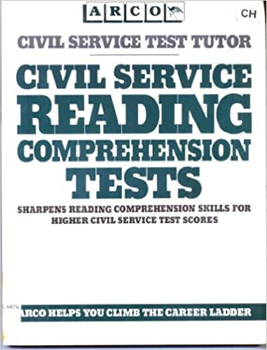 Civil Service Reading Comprehension Tests Arco