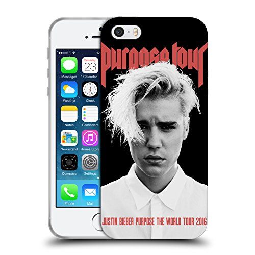 Official Justin Bieber Purpose Poster Tour Merchandise Soft Gel Case for iPhone 5 iPhone 5s iPhone SE