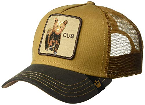 Goorin Bros. Men's Animal Farm Trucker Hat, Brown Cub, One Size