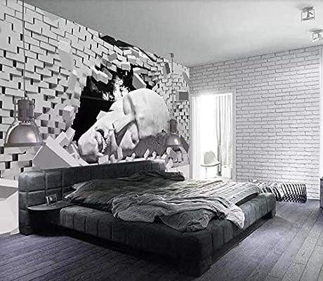 ZNBH Papel Tapiz Mural De Pared 3D Escultura Durmiente Murales De ...