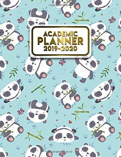 Amazon.com: Academic Planner 2019-2020: Cute Blue Panda ...