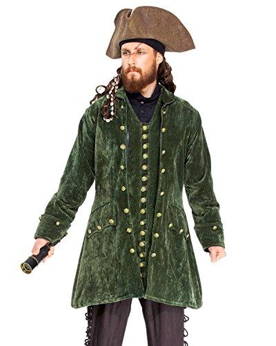 Pirate Captain Nathaniel Coat