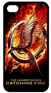 Unique Hunger Game 2 CATCHING FIRE TPU Protection Case Cover for Iphone 4/4s