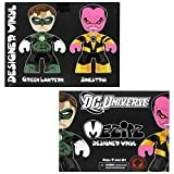 Green Lantern vs. Sinestro Mez-Itz SDCC 2011 2-Pack by Mezco