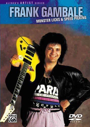 Monster Licks-Speed Picking, Frank Gambale ()