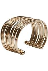 Charles Albert Bold Gold Alchemia Cuff Bracelet