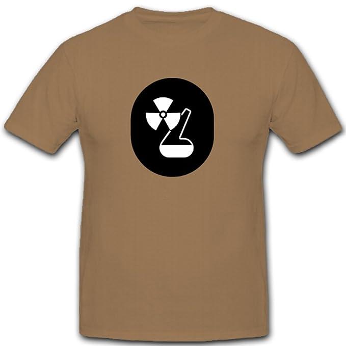 Servicio Química nadadores NVA DDR ABC Emblema de defensa Escudo – Camiseta # 7909 arena Small