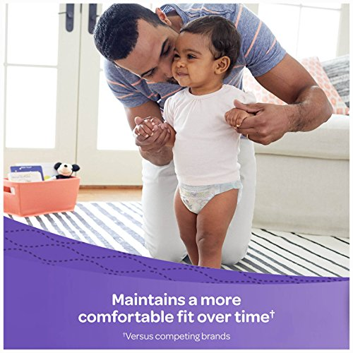 Large Product Image of HUGGIES LITTLE MOVERS Diapers, Size 6 (35+ lb.), 104 Ct, ECONOMY PLUS (Packaging May Vary), Baby Diapers for Active Babies