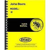 New John Deere N Manure Spreader Parts Manual