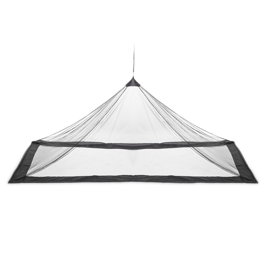 Z-Fire Outdoor Compact Lightweight Tent Mosquito Net Canopy for Single Camping Bed (Black)