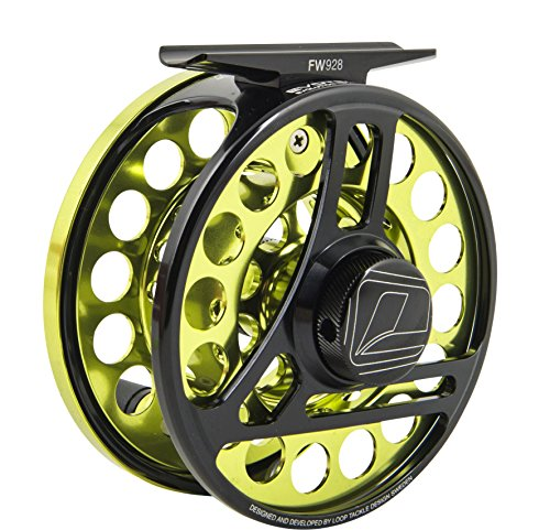 Loop NYC LOOP Evotec Feather Weight Fly Fishing Reel Left Hand 5-7 Green