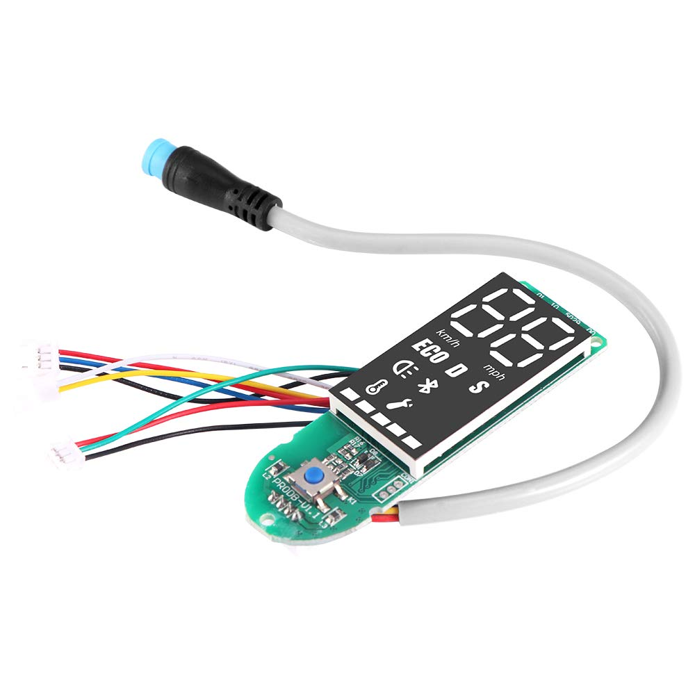 Funda de Pantalla para ciclomotor el/éctrico AOZBZ Color Negro para Xiaomi M365