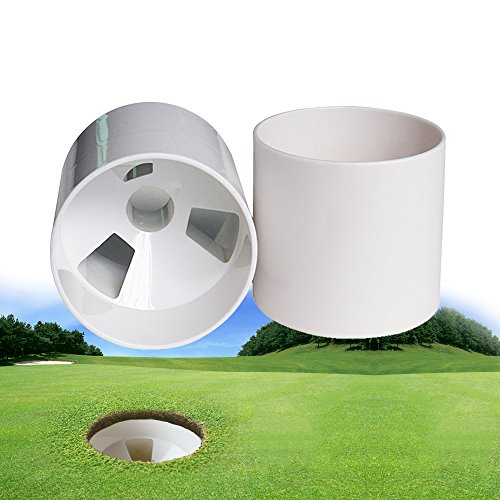 2pcs Plastic Putting Green Golf Cup 4