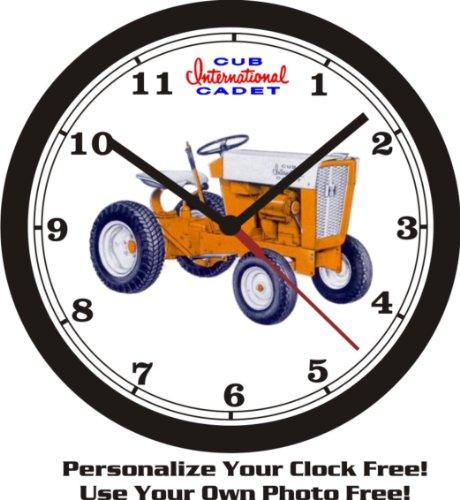 Original Cub Cadet Lawn Tractor Wall Clock-Free USA Ship! (Clock Honda Wall)