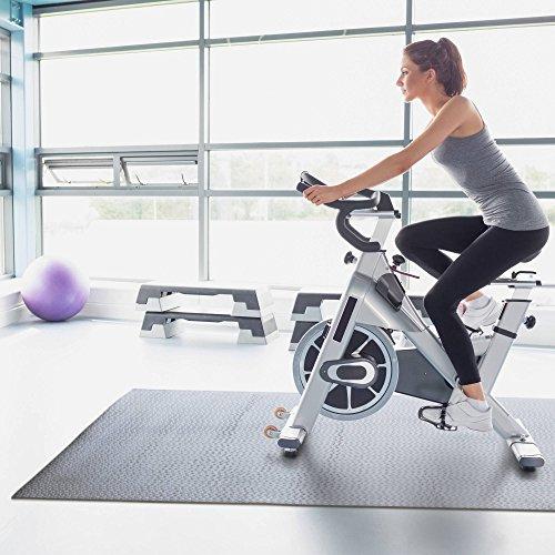 """CAP Barbell Circle Textured Fitness Equipment Mat, 40"""" X"""