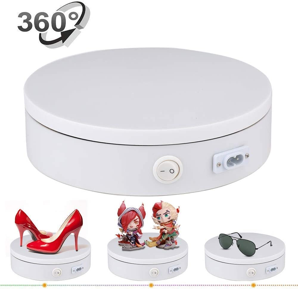 Yesbaby Yesbaby 360/° Rotating Platform Turntable Swivel Base Stand for Monitor TV