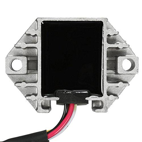 GOZAR Rectificador del Regulador De Voltaje para Yamaha Yfz 450 2004-2009 5Tg-81960-00-00